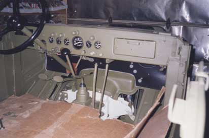 1942 WC58 Command Car owned and restored by John Bizal.
