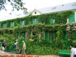 Monet's home and gardens.
