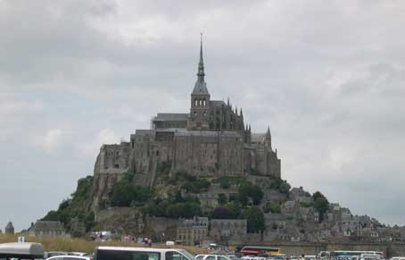 "Mont Saint Michel Abbey. The history of this place goes back to 708 and is fascinating, not to mention the architecture.  A ""must see"" when in Normandy."