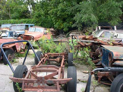 See anything you like in this yard, holler at me. They will all be getting scrapped soon.