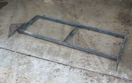 NOS M43 ambulance windshield frame.