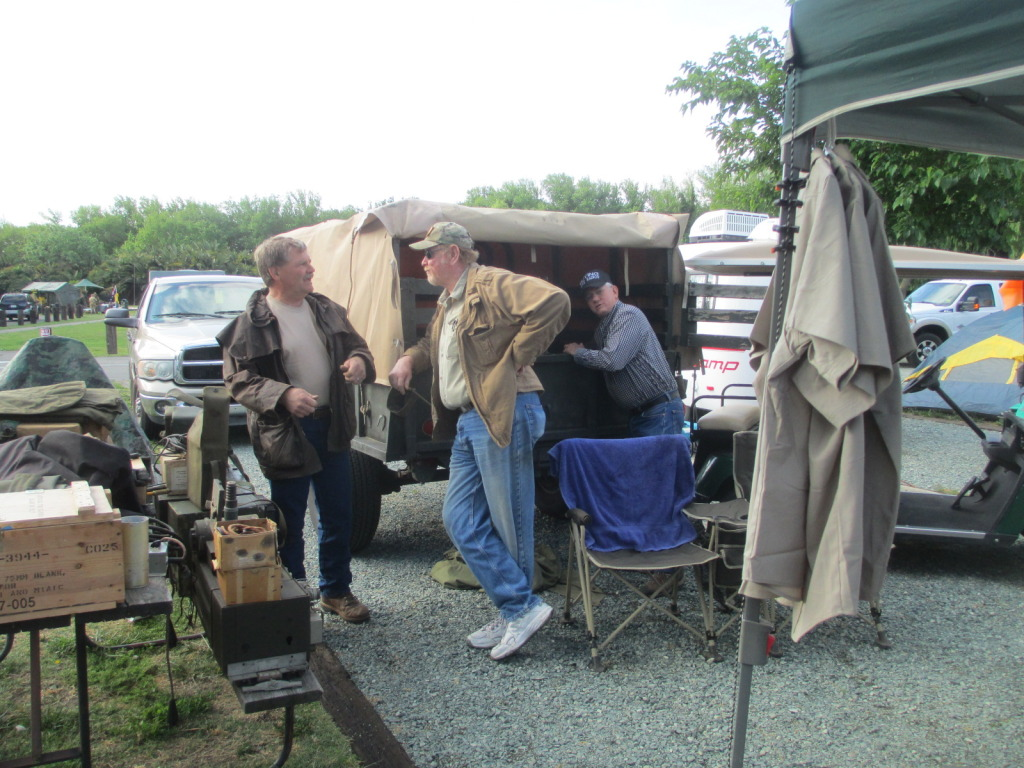 Stan S. Rod Shaver and Russ Morgan. Good to see my friends as well as the parts and trucks.