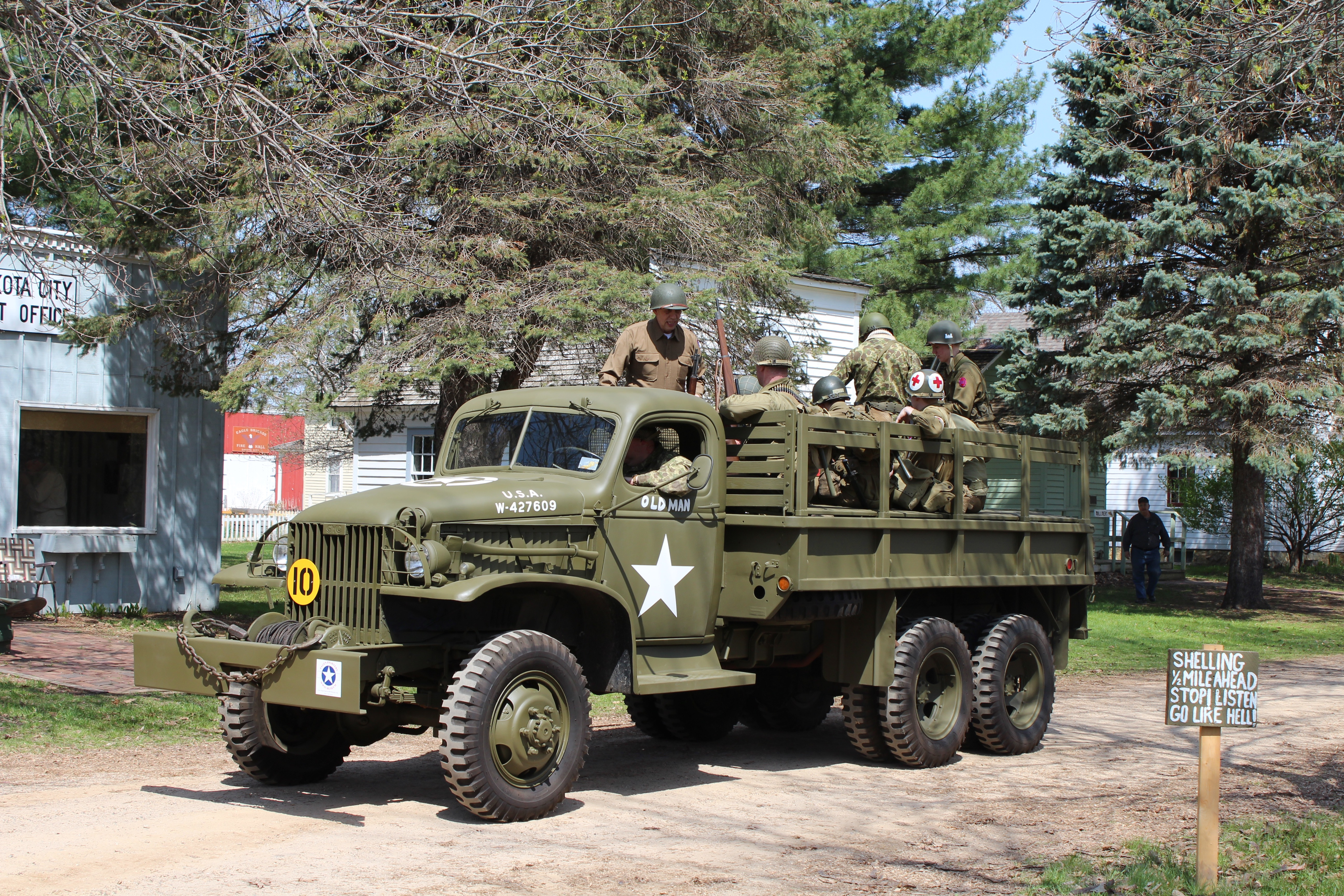 5th Annual Armed Forces Day WWII Weekend – May 2014