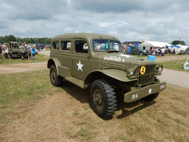 Military Truck Show and Swap Meet in Iola, Wisconsin