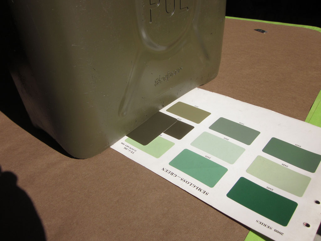 Paul Brown Dodge >> RESEARCH on paint colors done by Paul Viens – Midwest Military
