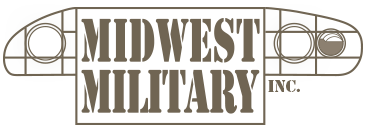 Midwest Military logo